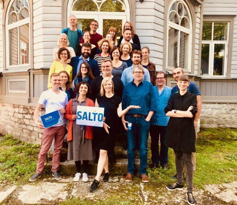 Group photo of SALTO Network